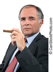 styrelse, cigarr
