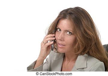 styrelse, mobiltelefon, 2, womanaffär