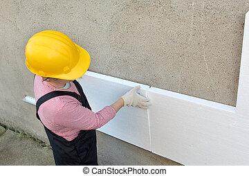 styrofoam , απομόνωση