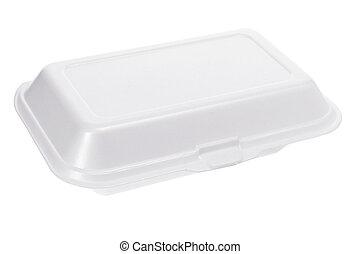 styrofoam , κουτί