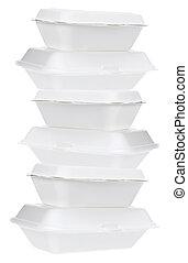 styrofoam , κουτιά