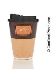 Styrofoam Coffee Cup