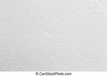 styrofoam, plano de fondo, textura