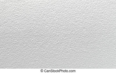 styrofoam polystyrene texture background - close up of a...