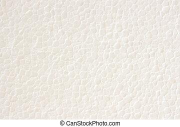 styrofoam, textura, plástico