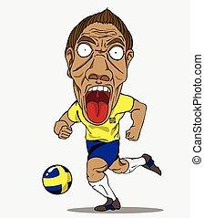 Suède, football, joueur