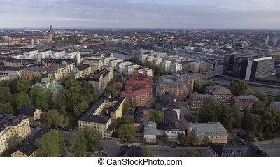 suède, vue, stockholm