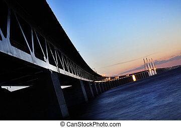 suécia, oresund, ponte