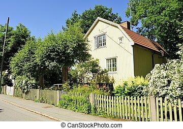 suédois, logement