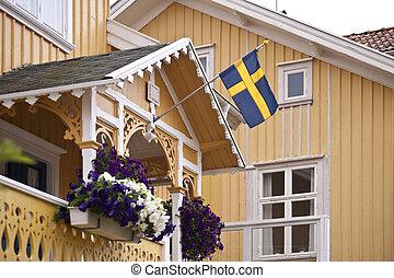 suédois, maison
