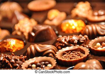 suíço, chocolate
