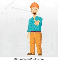 su, costruzione, progetto, ingegnere, pollici, dare