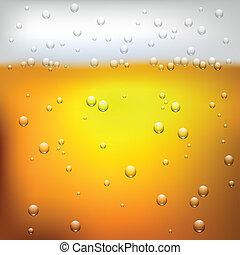 su, illustrazione, birra, vettore, struttura, chiudere