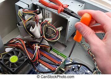 su., installazione, aggiornamento, computer, dettagli,...