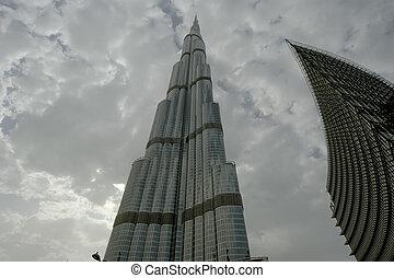 su, prior, tower), dubai, burj, (khalifa, conocido, khalifa