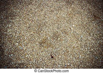 su, struttura, sabbia, fondo, chiudere, spiaggia