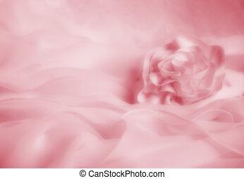 suave, rosa, boda