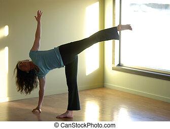 suave, yoga, foco