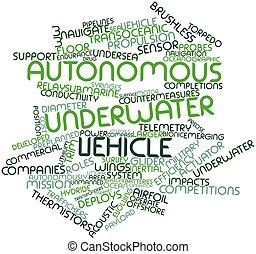 subacqueo, autonomo, veicolo