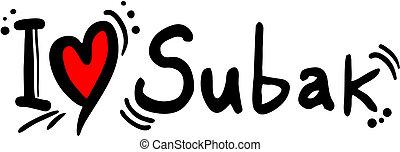 Subak love