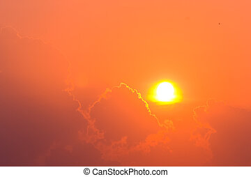 subida del sol