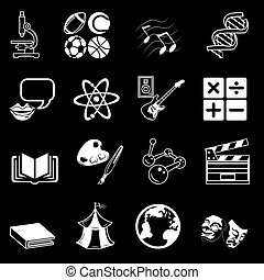 subject icons