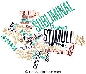 subliminal, estímulos