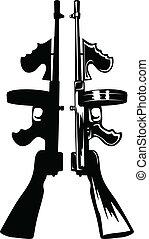 submachine 銃