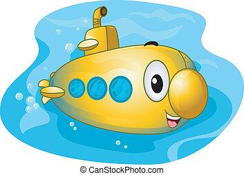 Submarine Mascot