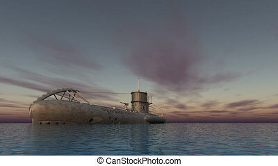 submarine to navigate
