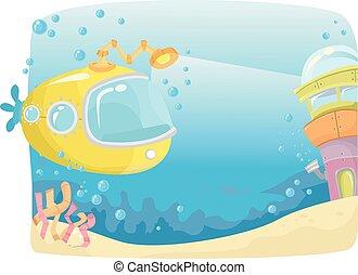 Submarine Underwater Search