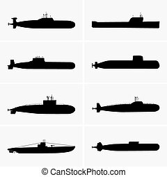 Submarines - Set of Submarines