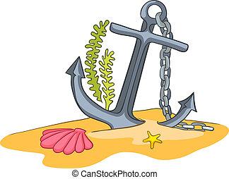 submarino, caricatura