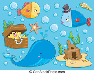 submarino, elementos, diseño