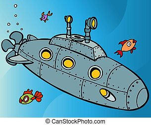 submarino, submarinas