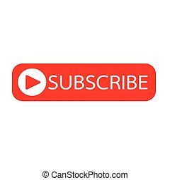 Subscribe button icon illustration design