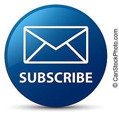 Subscribe (email icon) blue round button