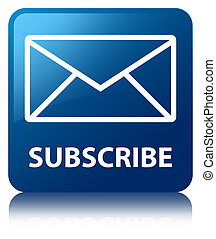 Subscribe (email icon) blue square button