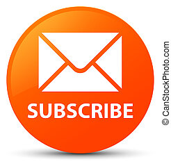 Subscribe (email icon) orange round button