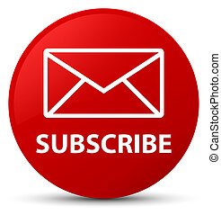 Subscribe (email icon) red round button