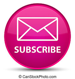 Subscribe (email icon) special pink round button
