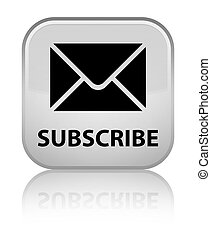 Subscribe (email icon) special white square button
