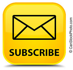 Subscribe (email icon) special yellow square button