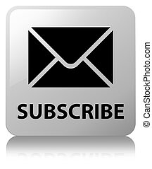 Subscribe (email icon) white square button