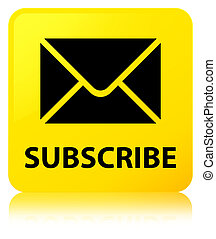 Subscribe (email icon) yellow square button