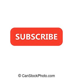 Subscribe icon button design