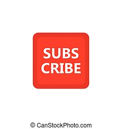 Subscribe icon design