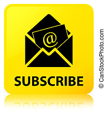 Subscribe (newsletter email icon) yellow square button - ...