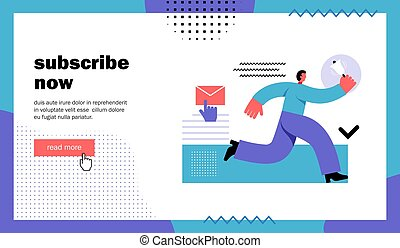 Subscribe now website landing page - Subscribe now, website ...