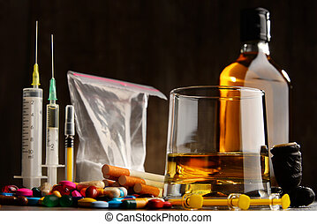 substâncias, álcool, drogas, cigarros, incluindo, addictive